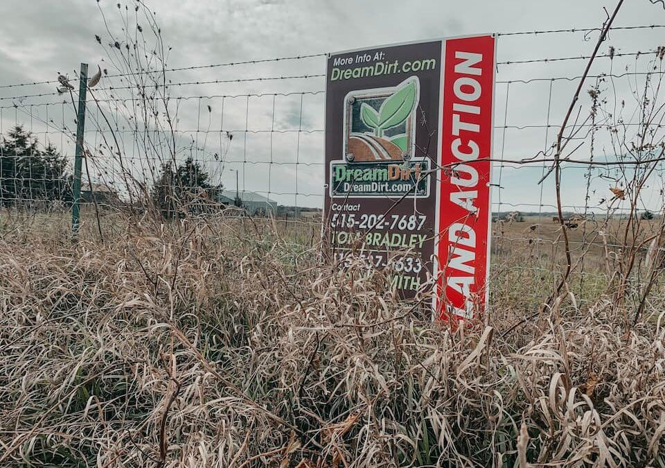 Farmland Auction Commission Rates