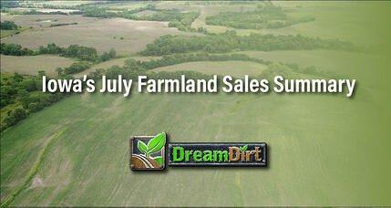 """Iowa's July Farmland Sales Summary"""