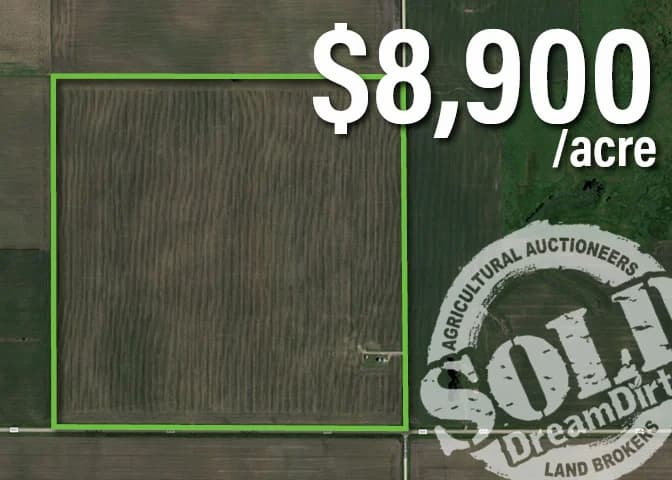 Hancock County, Iowa Farmland Auction Success!