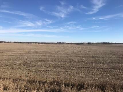 Photo of a wide open field in Iowa