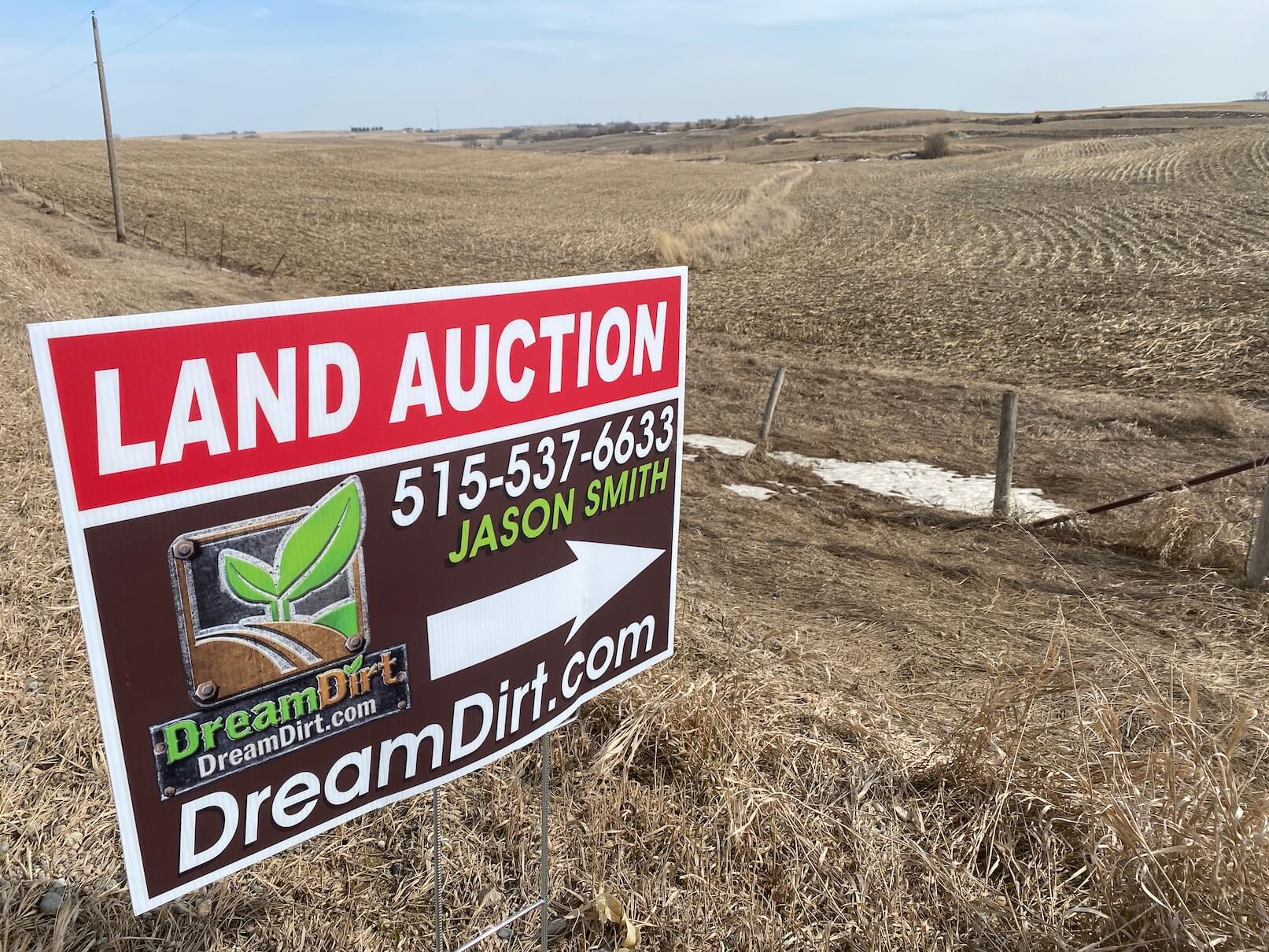dreamdirt online land auctions