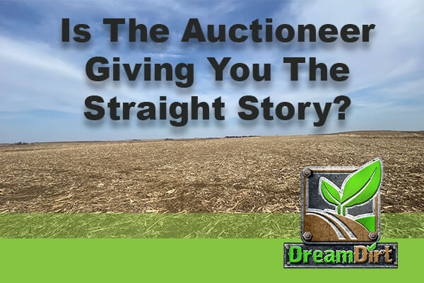 Is That Auctioneer Giving You The Straight Story? A Lesson From The Darkside