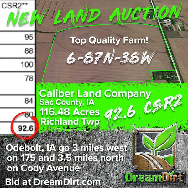Odebolt iowa land auction