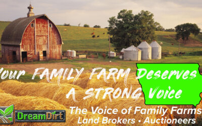 The Voice of Family Farms – DreamDirt Auctioneers