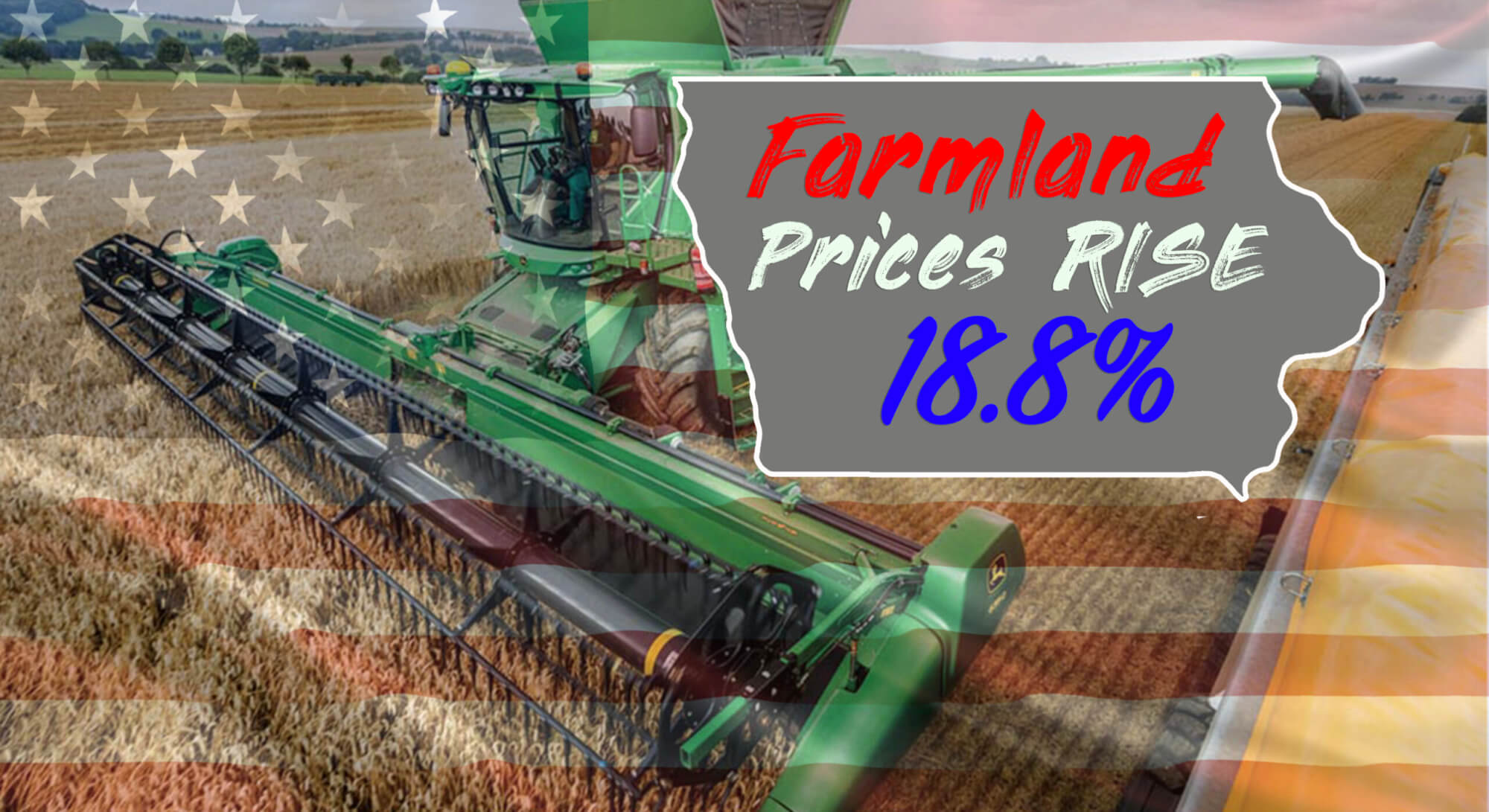 Iowa land price graphic