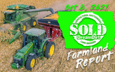 Iowa Farmland Report and Auction Results October 8, 2021