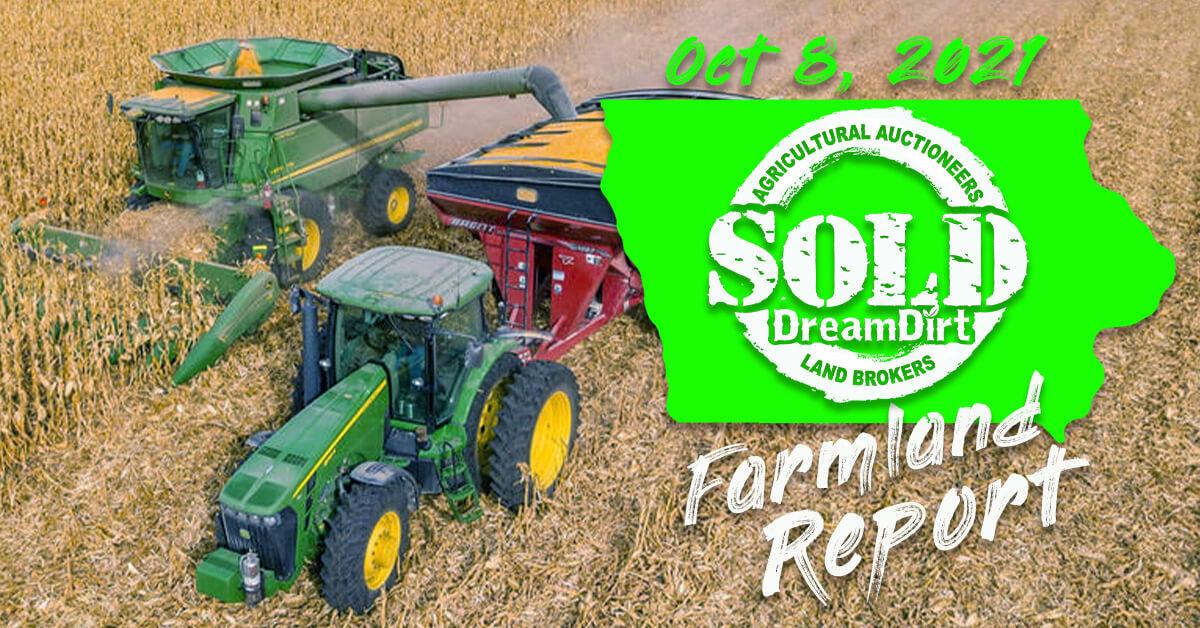 Report cover Iowa Farmland Price Report